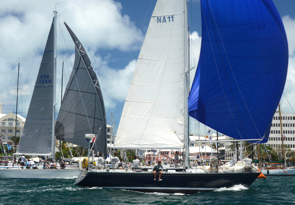 3 Swift leads Cygnette at the Finish RBYC AR 2014 DSC 4433